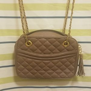 Talbots quilted crossbody bag